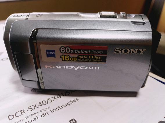 Sony Handycam Dcr-sx60 (aceito Trocas)