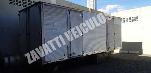 Baú Aluminio Facchini 7.50 Comprimento  Ano 2008 Para Toco