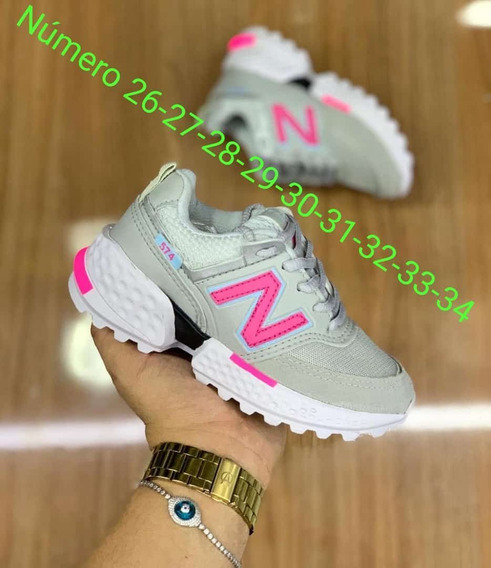 Tênis Nike Rosa Com Branco
