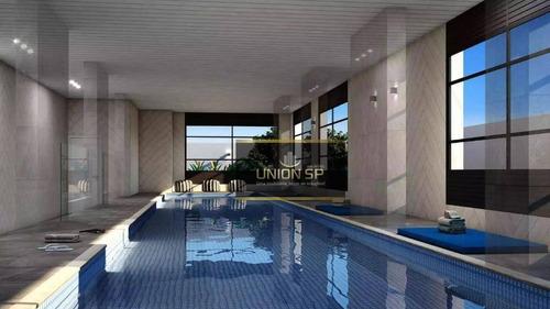Apartamento Com 1 Dormitório À Venda, 79 M² Por R$ 1.300.331,00 - Moema - São Paulo/sp - Ap45073