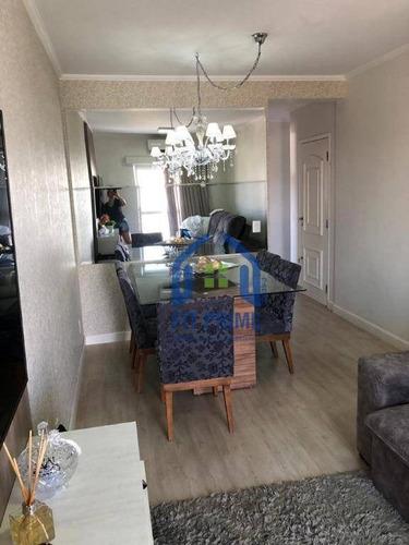 Apartamento Com 2 Dormitórios À Venda, 70 M² Por R$ 359.000 - Parque Estoril - São José Do Rio Preto/sp - Ap1434