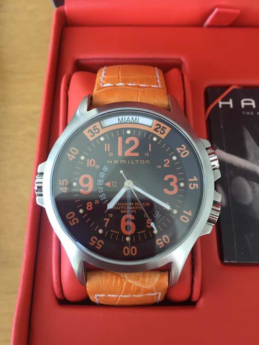 Hamilton Khaki Air Race Gmt Automatic 600ft