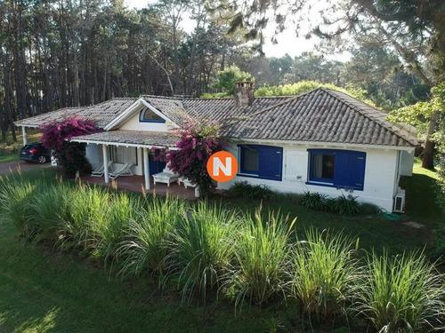 Alquiler Casa En Laguna Blanca , Manantiales 3 Dormitorios - Ref: 217021