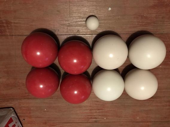 Jogo De Bochas Profissional 8 Bolas + 1 Balim Alta Qualidade