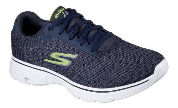 Tenis Skechers Go Walk 4 Masculino 54156-nvlm