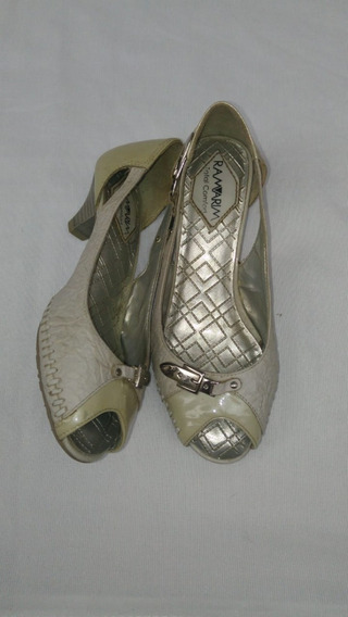 728 Sapato Tipo Peep Toe Ramarim