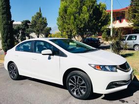 Honda Civic Exl Navi Sedan Piel Qc Std Maximo Equipo Nuevo¡¡