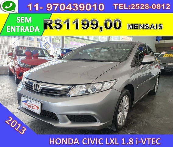 New Civic Lxl 1.8 2013 Automatico