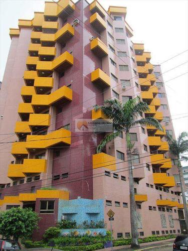 Apartamento Com 1 Dorm, Boqueirão, Praia Grande - R$ 210.000,00, 55m² - Codigo: 2987 - V2987