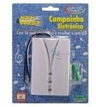 Campanhia Eletronica Bi Volt Con 36 Tons A Escolher