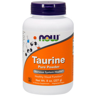 Taurina Pure Powder 227g Now Foods