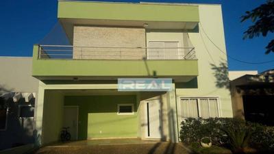 Casa Com 3 Dormitórios À Venda, 270 M² Por R$ 780.000 - Condomínio Campos Do Conde - Paulínia/sp - Ca2735