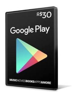 Cartãovale Presente Google Play