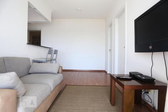 Apartamento No 24º Andar Com 1 Dormitório E 1 Garagem - Id: 892956985 - 256985