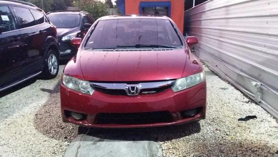 Honda Civic Lx 09 Rojo
