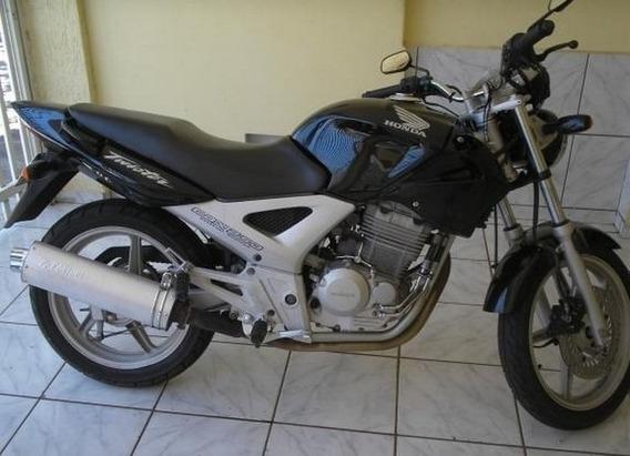 Honda Cbx 250 Twister Preta 2004