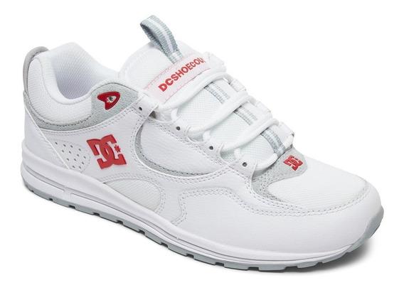 Zapatillas Dc Shoes Mod Kalis Lite Blanco Rojo!!!