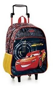 Mochilete Escolar Encanto C/ Rodinhas: Carros/ Frozen
