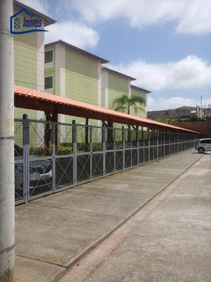 Apartamento Com 2 Dormitórios À Venda, 55 M² Por R$ 170.000 - Village - Itaquaquecetuba/sp - Ap0099