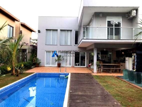 Casa No Cond. Portal Do Paraíso Ii, 4 Dormitórios, Excelente Localização - Ca01080 - 33446818