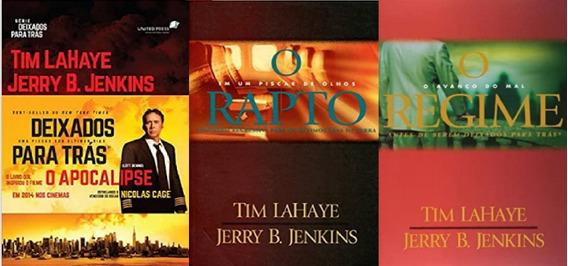 3 Livros Da Série Deixados Para Trás