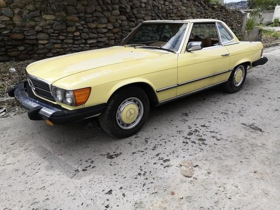 Convertible Collector Car Sl 450 Mercedes Benz Original Usa
