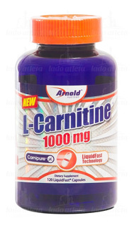 L-carnitine 1000mg 120 Caps Arnold Nutrition Carnipure [nf]