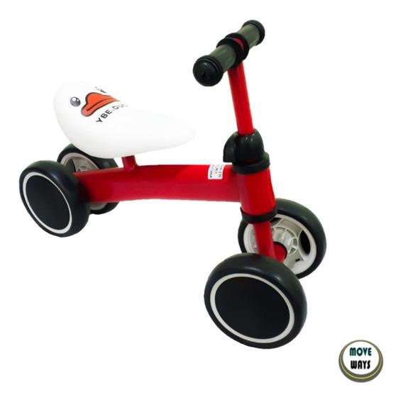 Bicicleta Andador Infantil 4 Rodas Sem Pedal Bike Balance