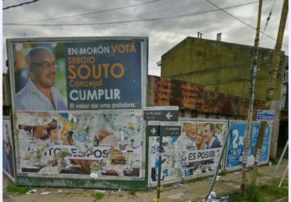 Remato Esquina 300m2 .en Villa Sarmiento , Moron