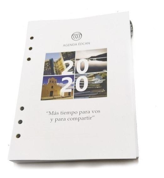 Repuesto Agenda 2020 Edcan N8 Diario R01 Del Productor