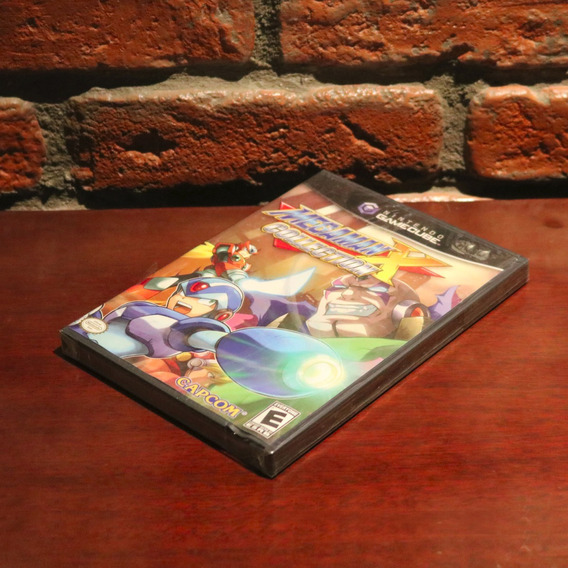 Mega Man X Collection Novo Lacrado Raro Original Americano Megaman Nintendo Gamecube Wii