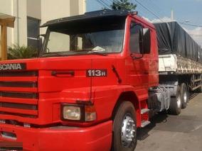 Scania 113 360 Ano 98 Com Carreta Ano 2010