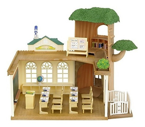 Calico Critters Country Tree Una Escuela