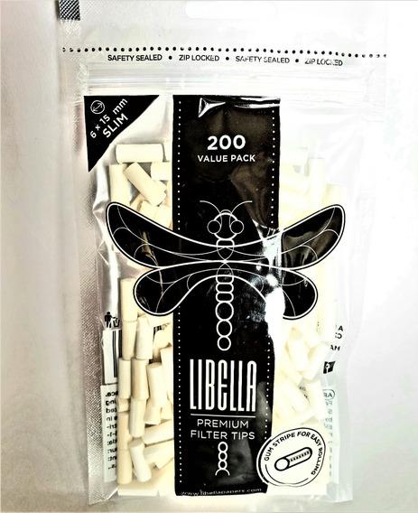 Filtros Libella Slim X 200 Engomados Premium