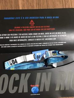 Ingresso Rock In Rio 04/10 Iron Maiden,scorpions,megadeth
