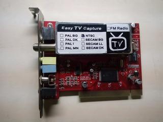 Tarjeta Capturadora Easy Tv Capture Tnf 5535-me