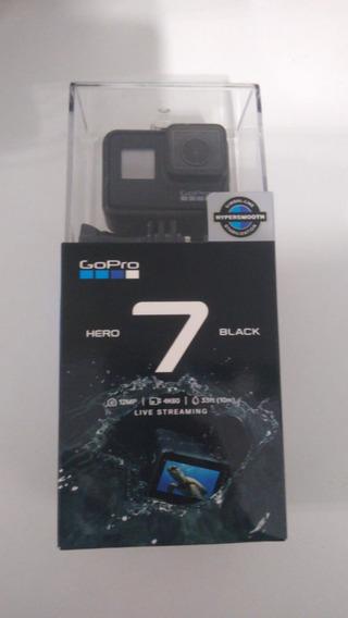 Câmera Gopro Hero 7 Black 4k Completa, Lacrada Fotos Reais