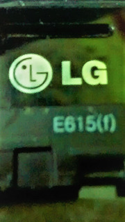 Botão Power Externo Lg E615f - Original