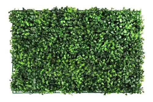 Imagen 1 de 9 de 20pzs Follaje Artificial Sintetico Para Muro Verde 60x40cm!!