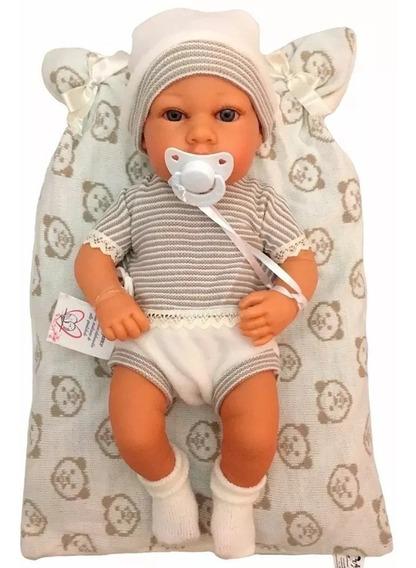 Bebê Reborn Realista Menino Rick Barato Vinil Baby Brink