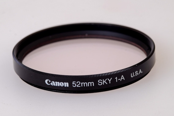 Filtro Canon 52mm Skyligth 1a