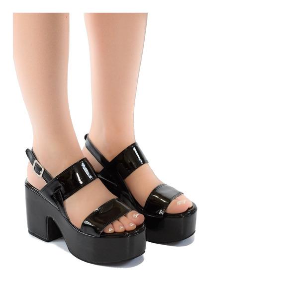 Sandalia De Mujer Zapato De Fiesta Plataforma