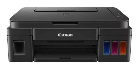 Impressora a cor multifuncional Canon Pixma G3110 com Wi-Fi 110V/220V preta