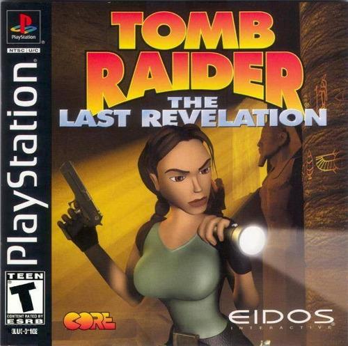 Tomb Raider 4 Last Revelation - Playstation 1 - Psx - Psone | Mercado Livre