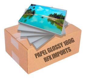 Papel Fotográfico Premium A4 Glossy 180g 1000 Folhas