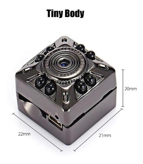 Mini Gravador De Câmera Sq10 Completo Hd 1080p Micro Dv Mov