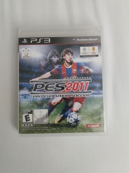 Pes 2011 Pro Evolution Soccer Playstation 3 Konami R$69,99