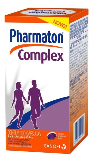 Pharmaton Complex Capsulas Gel C/ 100 Sanofi