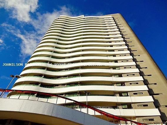 Cobertura Para Venda Em Natal, Areia Preta - Ed. Porto Atlântico, 4 Dormitórios, 4 Suítes, 6 Banheiros, 7 Vagas - Cob1163-porto Atlantico