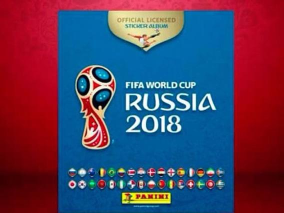 Album De Figuritas Panini Mundial Fifa Rusia 2018